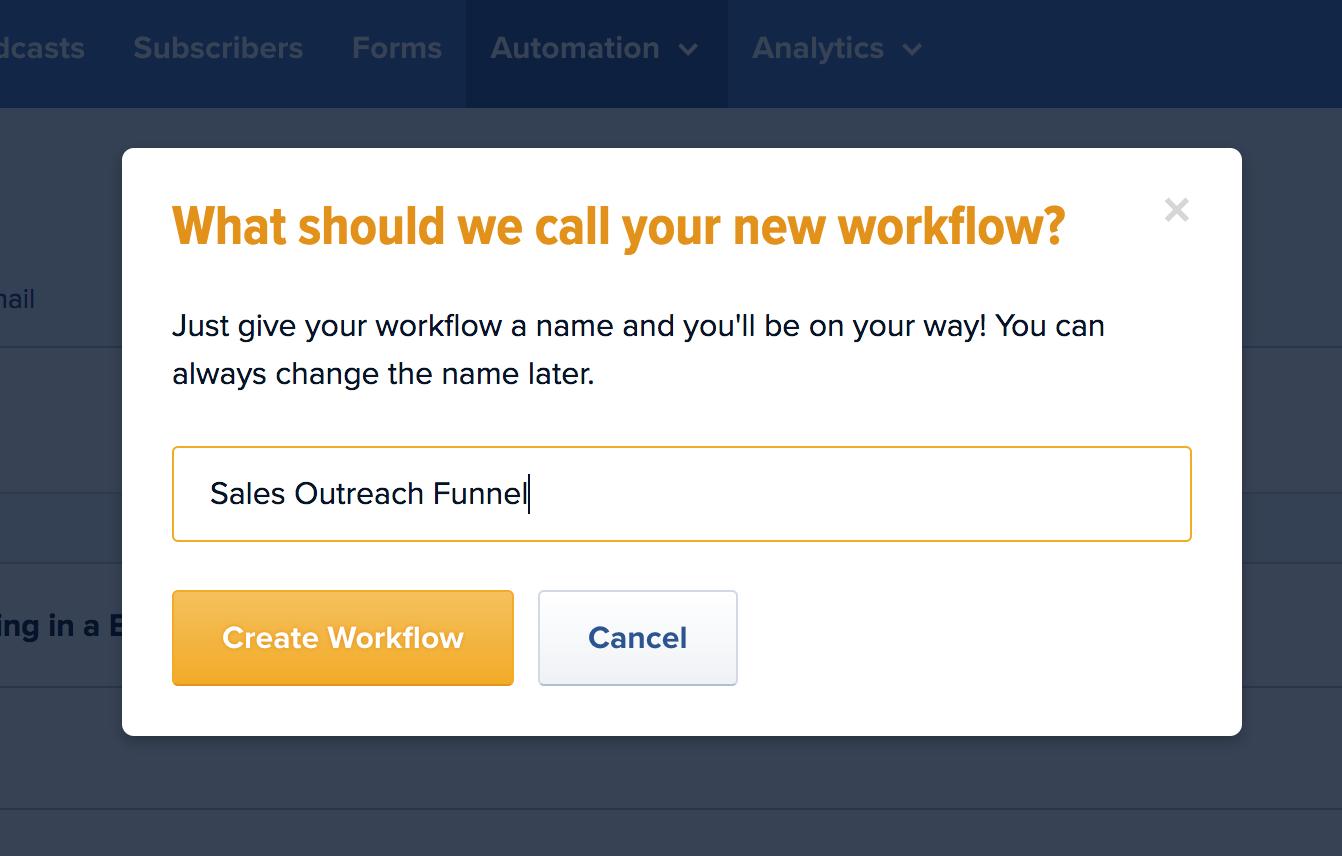 Workflow Name