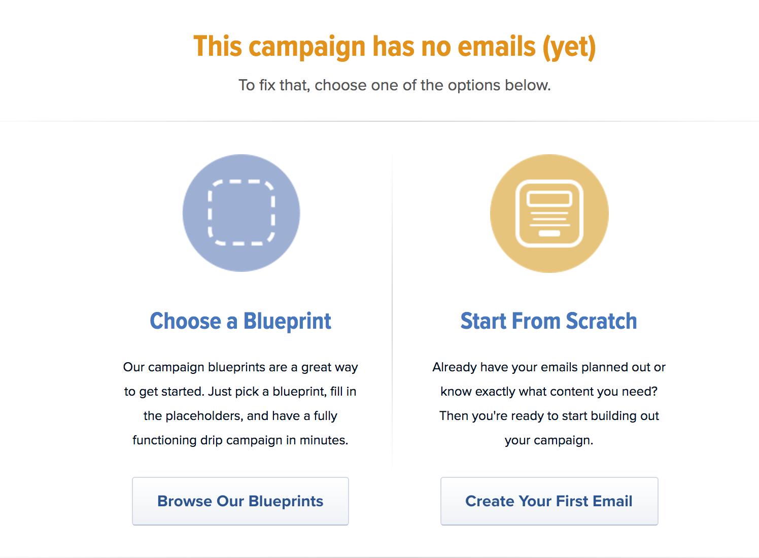 Create First Campaign